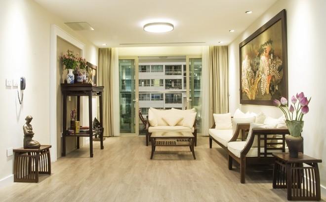 Căn hộ Hà Nội sang trọng dù sử dụng hầu hết nội thất cũ