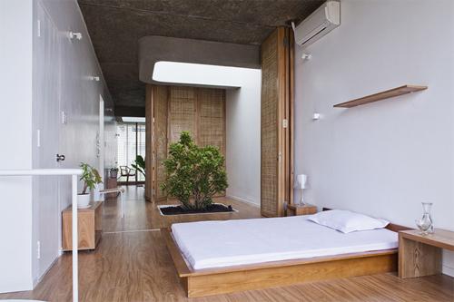 Thiết kế nhà ống kiểu Nhật