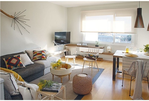Thiết kế đẹp mê ly căn hộ 50m2