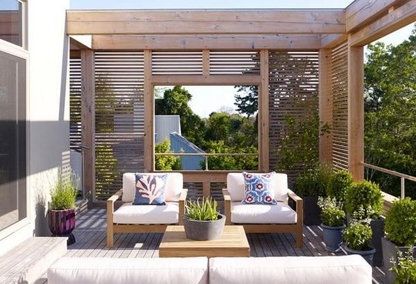 Thiết kế vườn tuyệt đẹp cho sân thượng