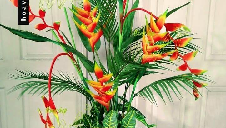 Xu hướng tiết kiệm: sử dụng hoa giả và cây nhựa trang trí hậu dịch Covid-19