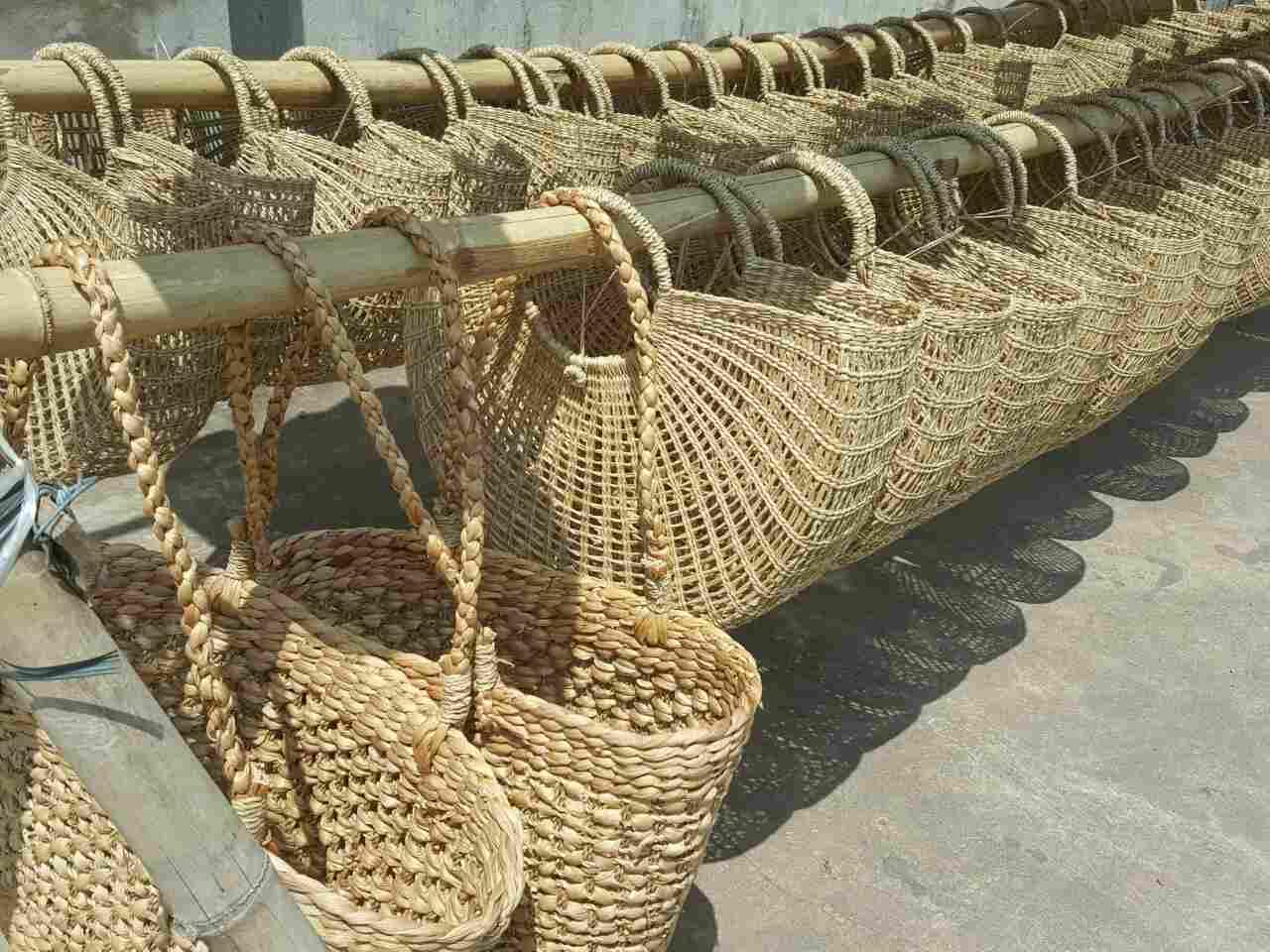 Hướng dẫn bảo quản và xử lý các sản phẩm từ cói