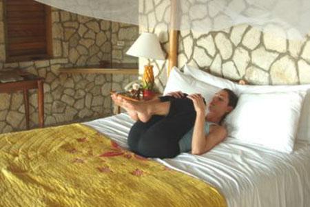 Yoga giúp ngủ ngon