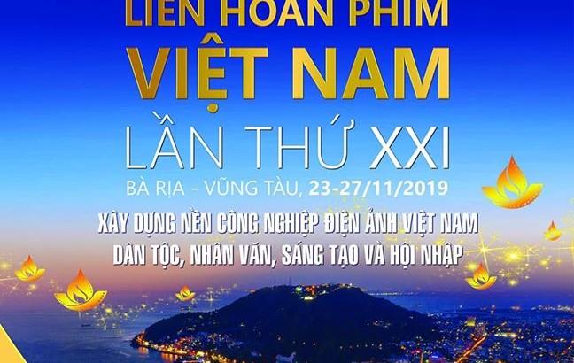 Liên hoan phim Việt Nam lần thứ 21 tại Vũng Tàu và Lịch chiếu phim miễn phí